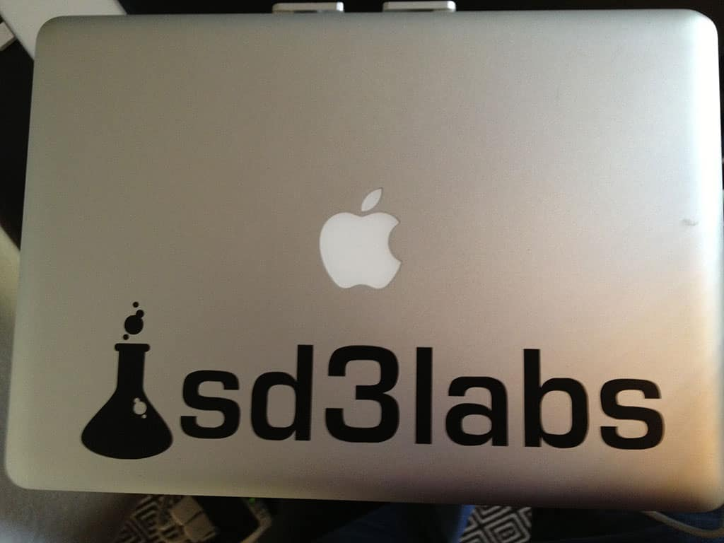 sd3labs vinyl sticker