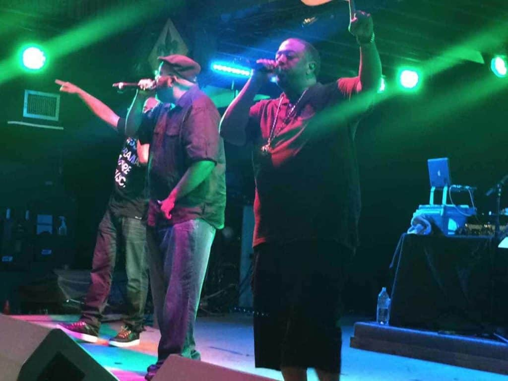 DJ Quickiemart and Blackalicious at Tipitina's 35