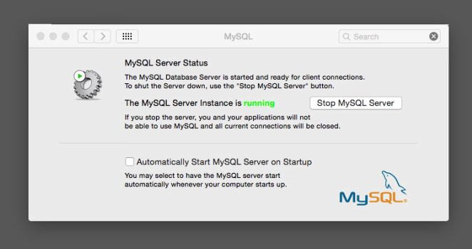 MySQL not auto starting on Yosemite 1