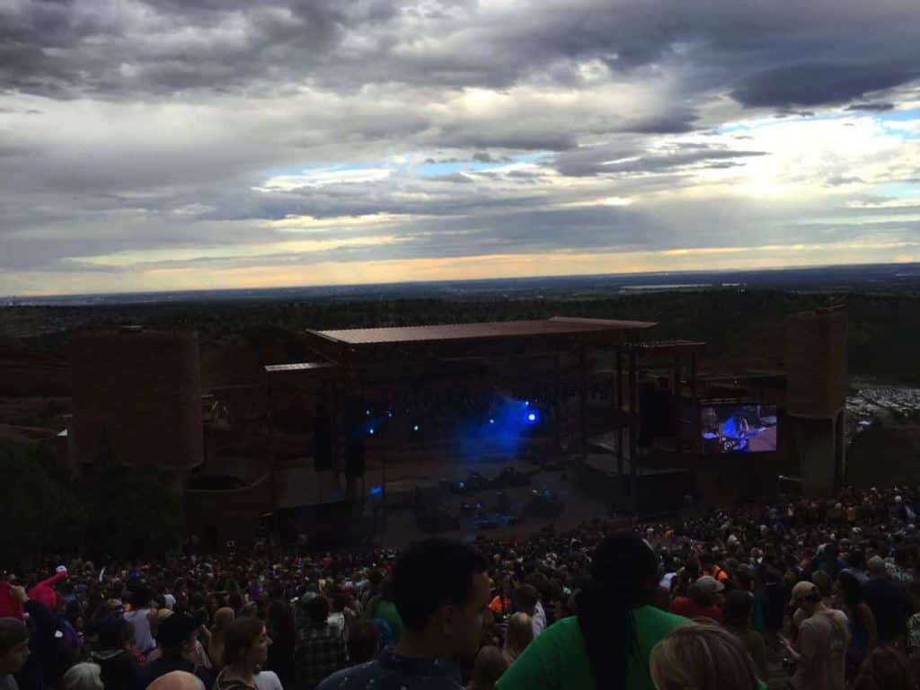 String Cheese Incident - Red Rocks, July 2015 2