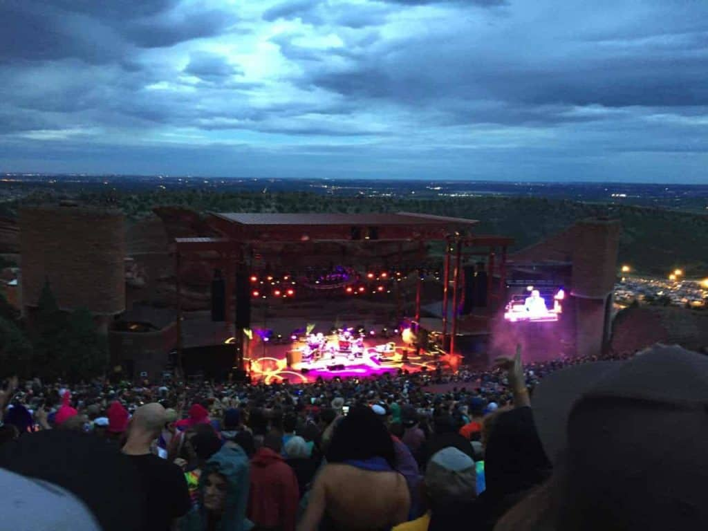 String Cheese Incident - Red Rocks, July 2015 11