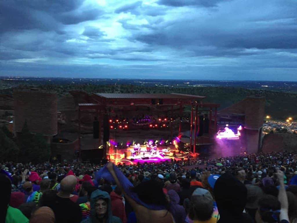 String Cheese Incident - Red Rocks, July 2015 12