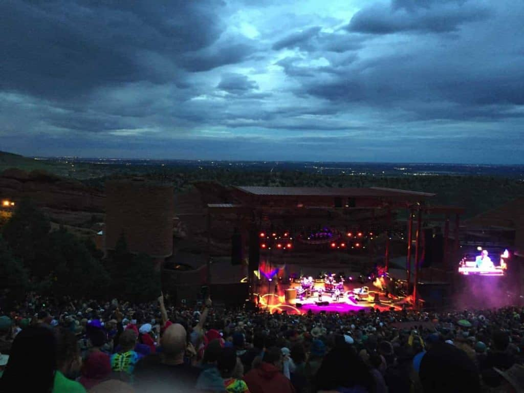 String Cheese Incident - Red Rocks, July 2015 13