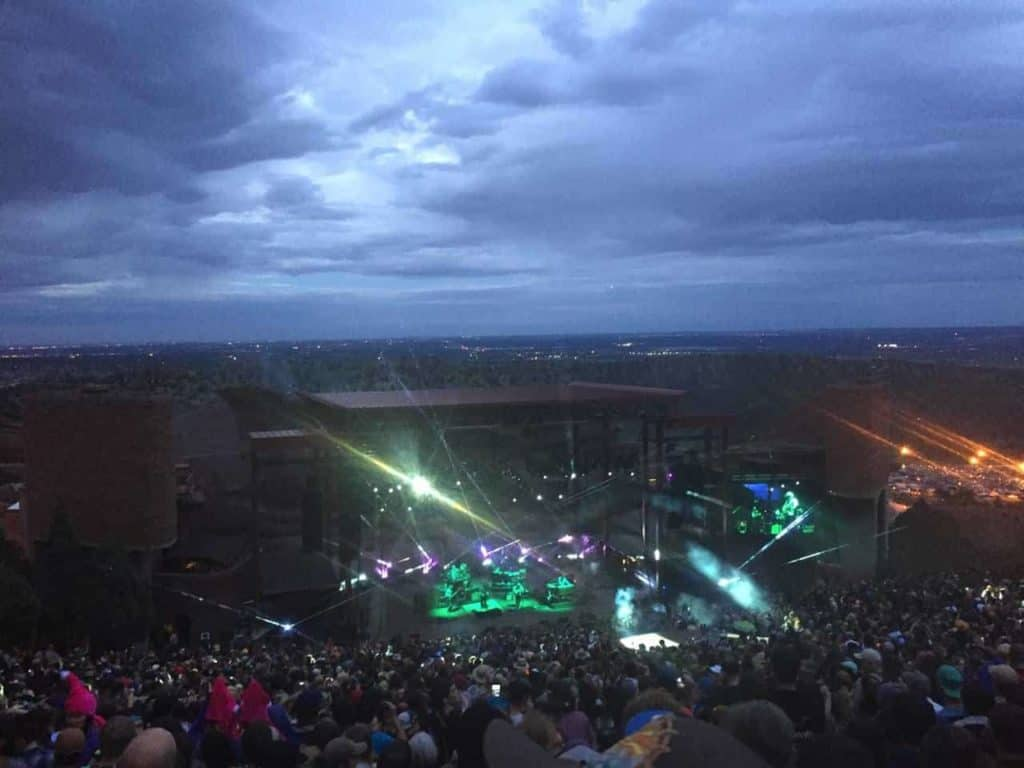 String Cheese Incident - Red Rocks, July 2015 14