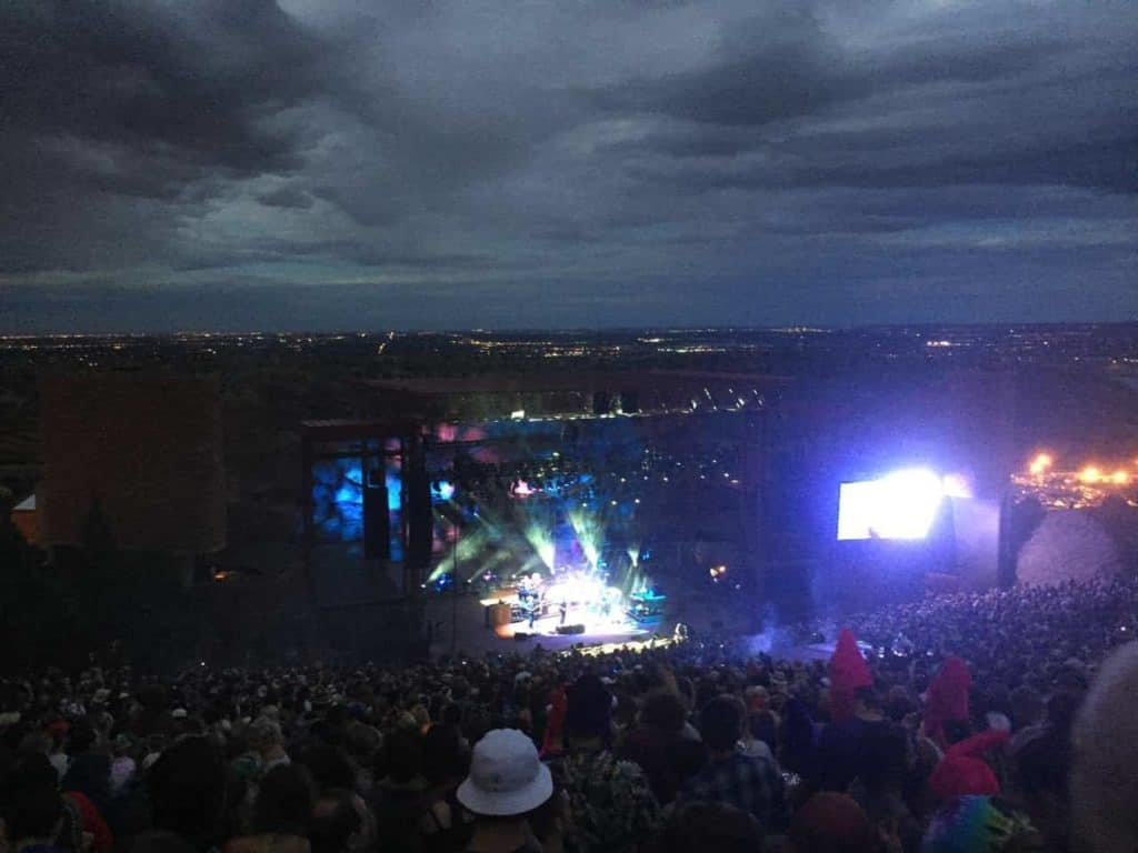 String Cheese Incident - Red Rocks, July 2015 16