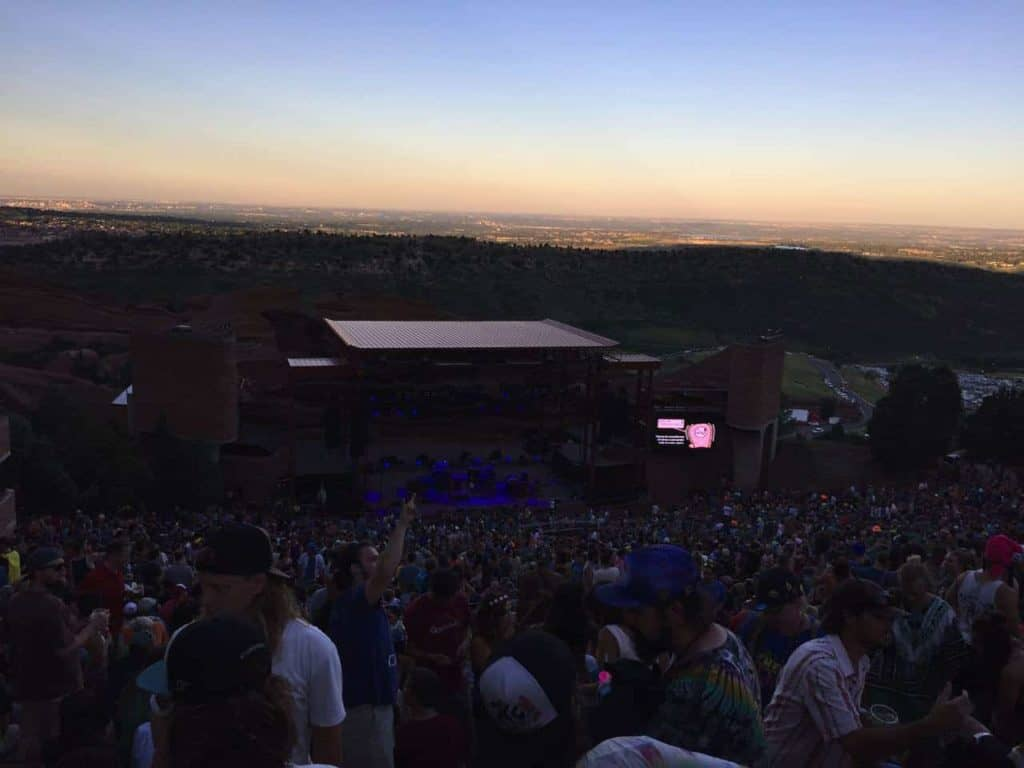 String Cheese Incident - Red Rocks, July 2015 43
