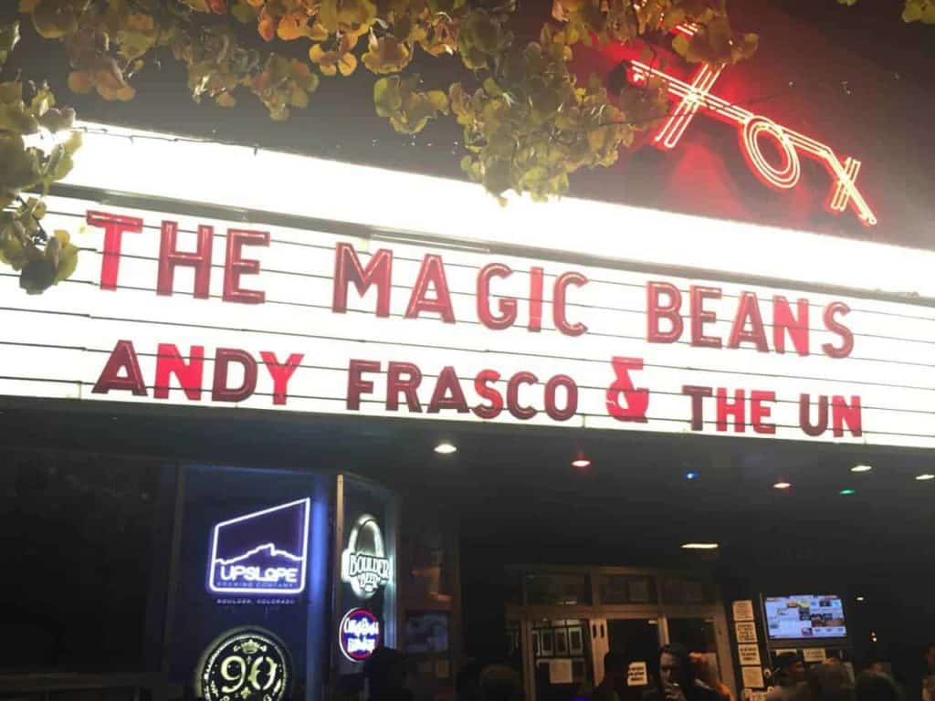The Magic Beans and Andy Frasco and the U.N. at Fox Theatre, Boulder, Colorado - November 20th, 2015 9