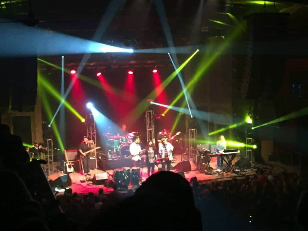 The Motet at The Ogden in Denver on Friday Nov 13th, 2015 8