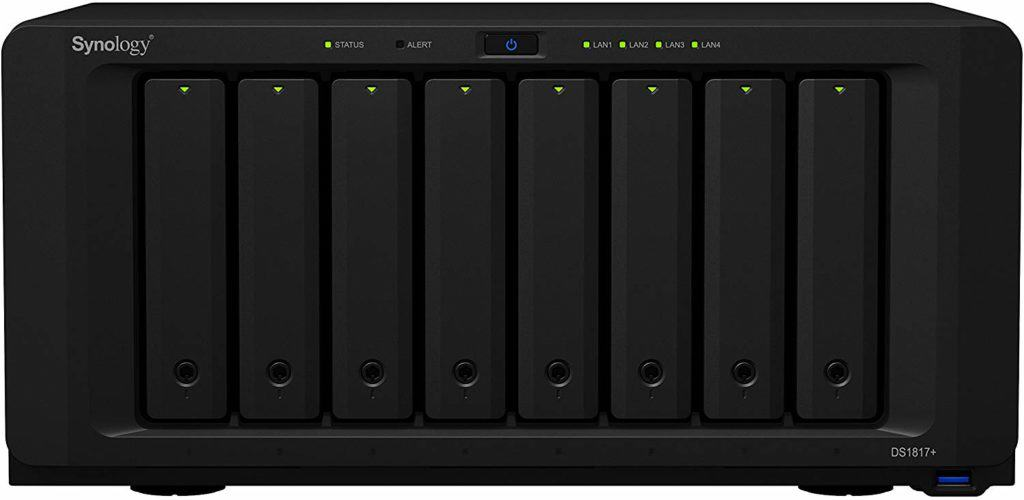 Synology 8 bay NAS DiskStation DS1817+ 1