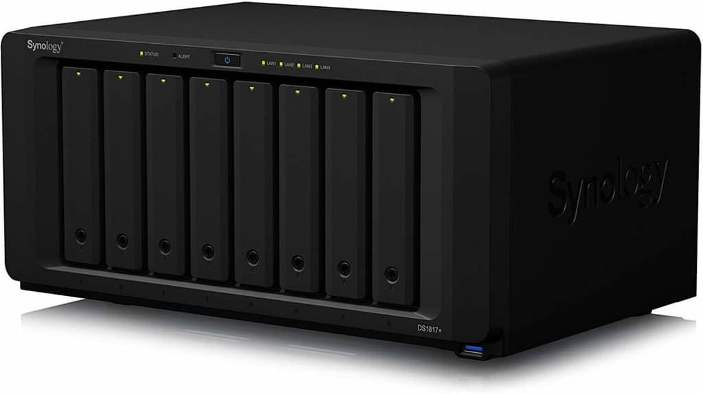Synology 8 bay NAS DiskStation DS1817+ 7