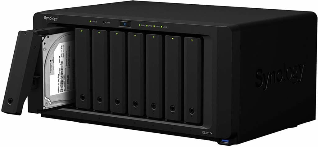Synology 8 bay NAS DiskStation DS1817+ 4