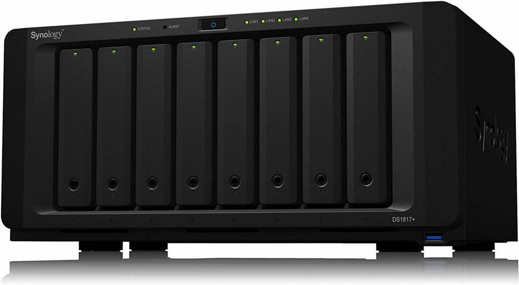 Synology 8 bay NAS DiskStation DS1817+ 2