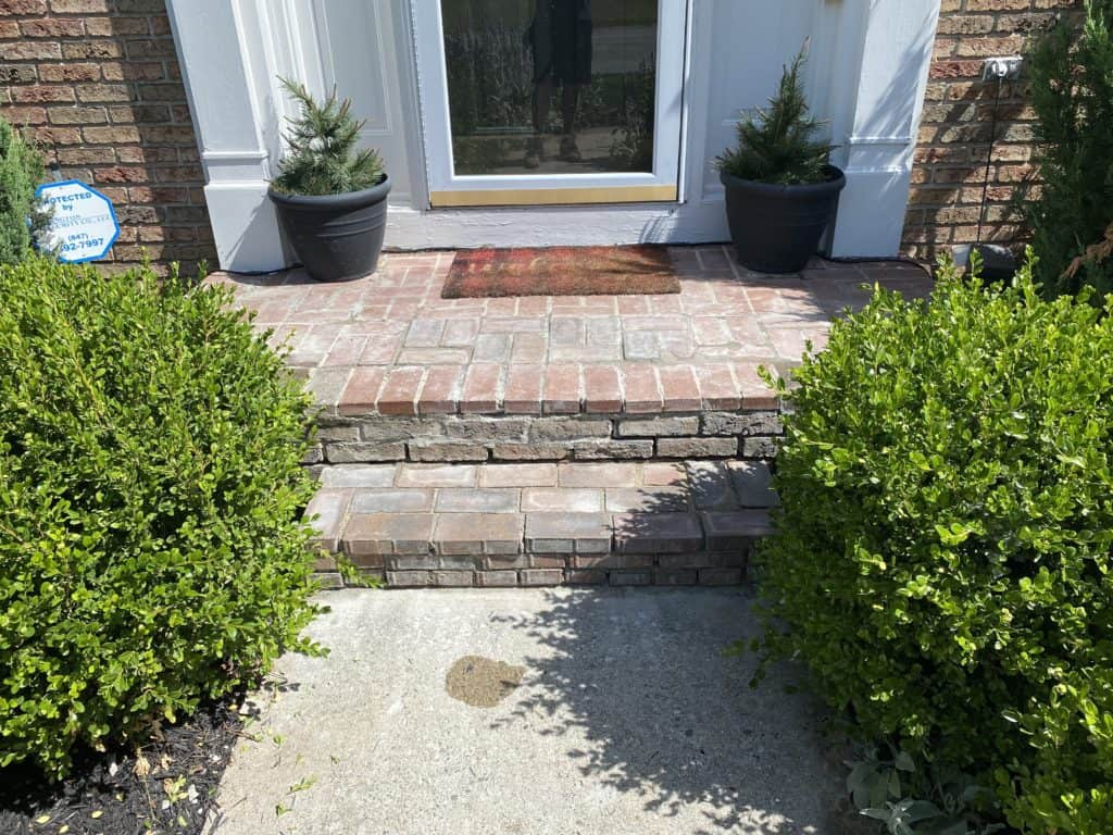 Redoing the front steps – Part 3 6