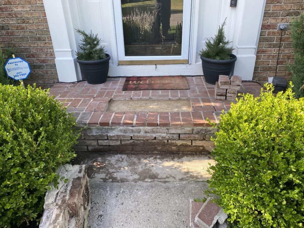 Redoing the front steps - Part 2 3